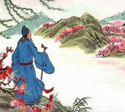 江畔独步寻花