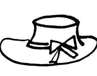 Hat简笔画