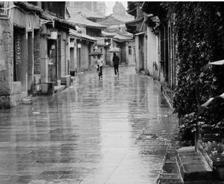 雨巷 雨巷原文