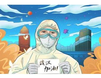 关于抗击疫情专题诗歌诵读稿:《一群hero 》