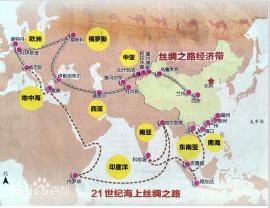 中国历史上首次采用古今对照地图