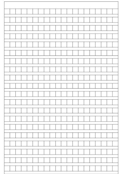 400字作文稿纸A4打印模板